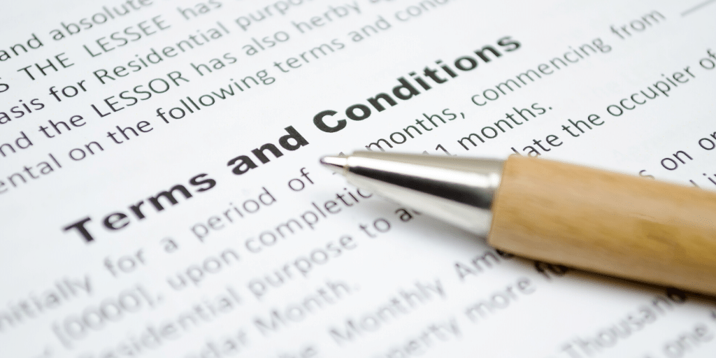 Understanding Terms and Conditions: What You've Always Wanted To Know